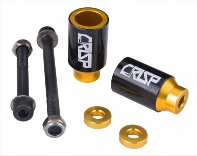 Crisp Stunt Pegs (Pair) - Gold