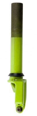 Grit Threaded Fork - Acid Green