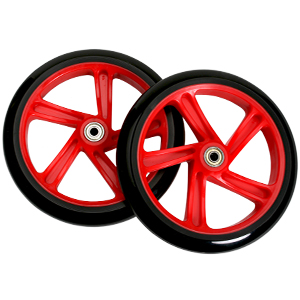 Razor A5 Lux Scooter Wheel 200mm Red (Pair)