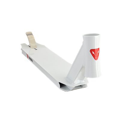 Anaquda Scooter Deck - WHIP - white
