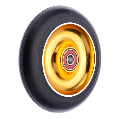 Anaquda Full Core 100mm Wheel - ABEC9 - black / gold