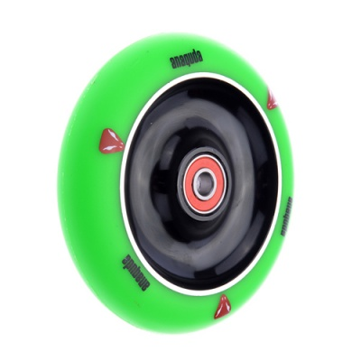 Anaquda Full Core 110mm Wheel - ABEC9 - green / black
