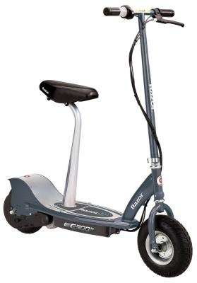 Razor E300S Seated Electric Scooter - Matte Grey