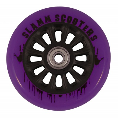 Slamm Nylon Core Wheel + ABEC 7 Bearings - Purple