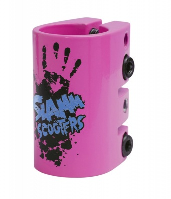 Slamm Scooter Quad Clamp - Pink