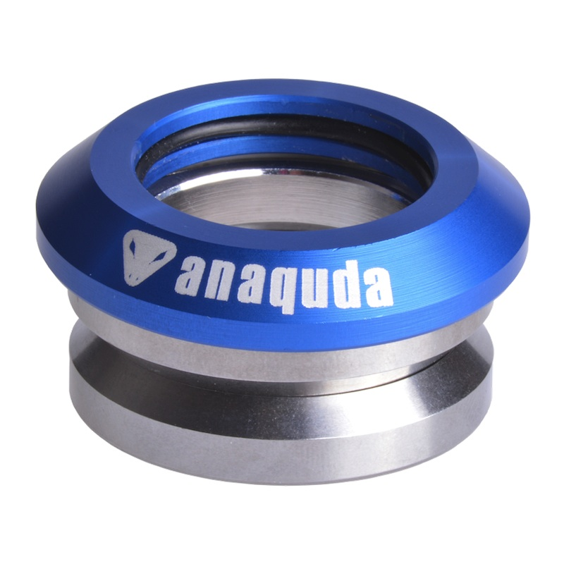 Anaquda Integrated Headset - blue