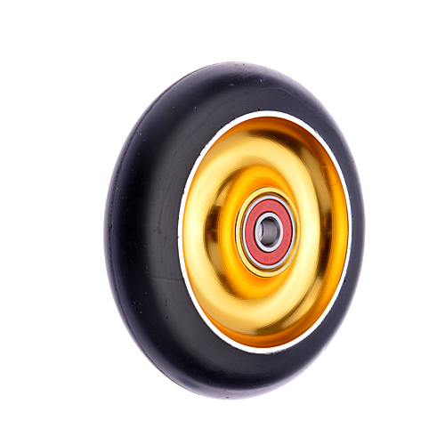 Anaquda Full Core 110mm Wheel - ABEC9 - black / gold