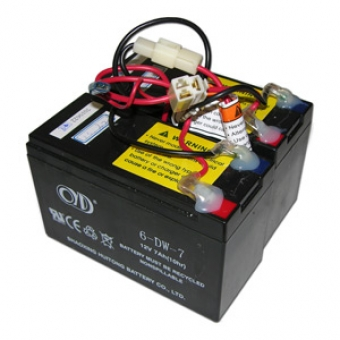 Razor E200 / E300 Battery - RAZ066 - 7.2Ah Battery use with ZK2430-D-FS / ZK2430HB4-FS Control Modules