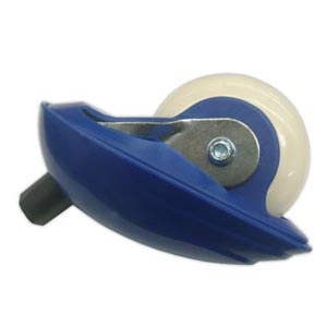 Razor FlashRider / RipRider 360 Rear Wheel Assembly - blue (single)