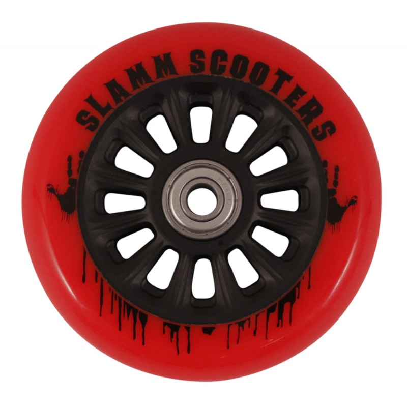 Slamm Nylon Core Wheel + ABEC 7 Bearings - Red