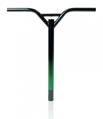 Lucky PryBar Scooter Bars - Black/Green - 20x20